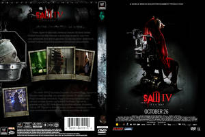 SAW IV DVD COVER by 321action