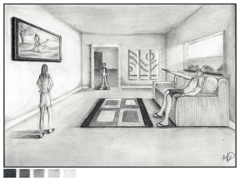 Cool One Point Perspective Drawings One point perspective by