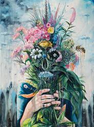 the last flowers by TanyaShatseva
