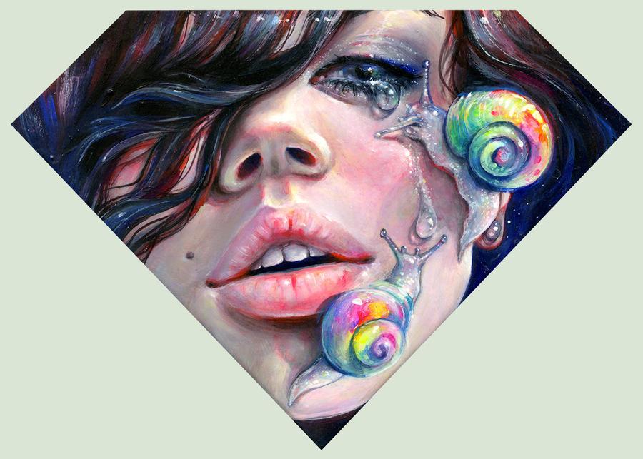 Thirsty Snails by TanyaShatseva