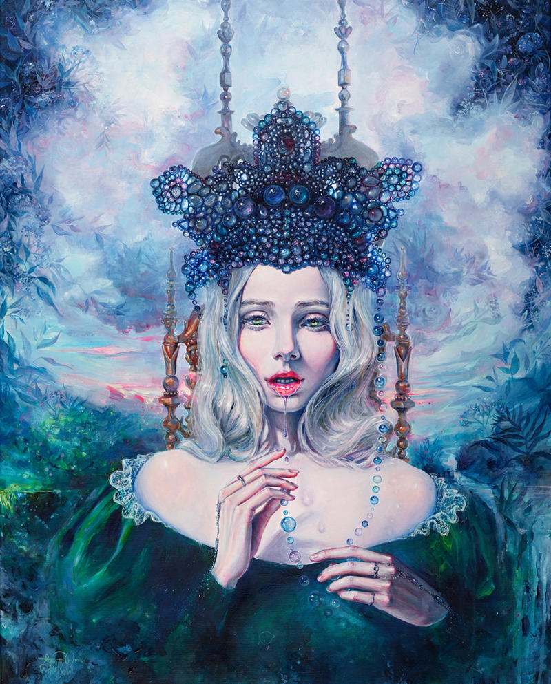 Self Crowned By Tanyashatseva On Deviantart