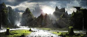 Landscape by Happy-Mutt