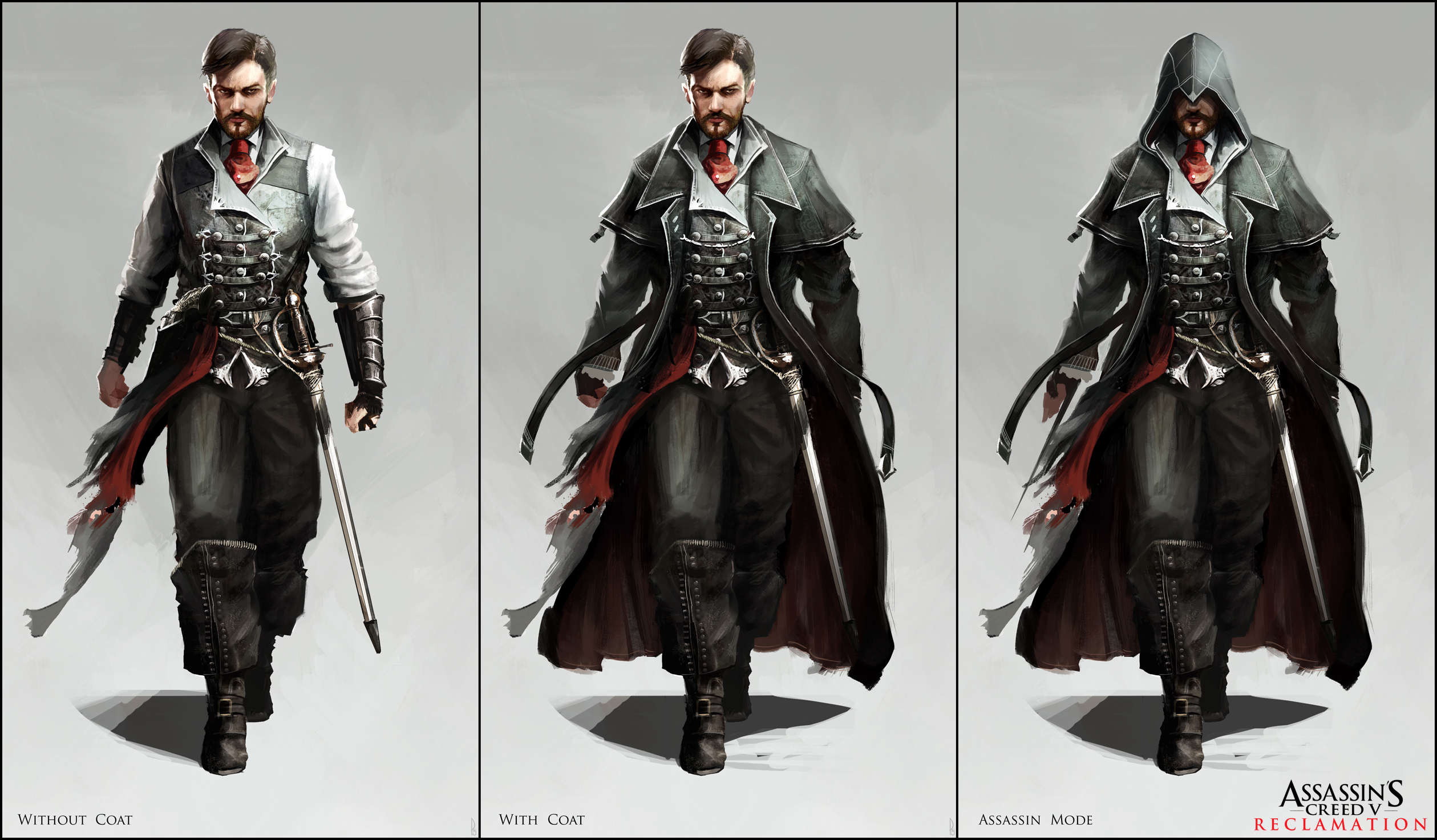Character Design London : Assassin s creed v character designs by happy mutt on