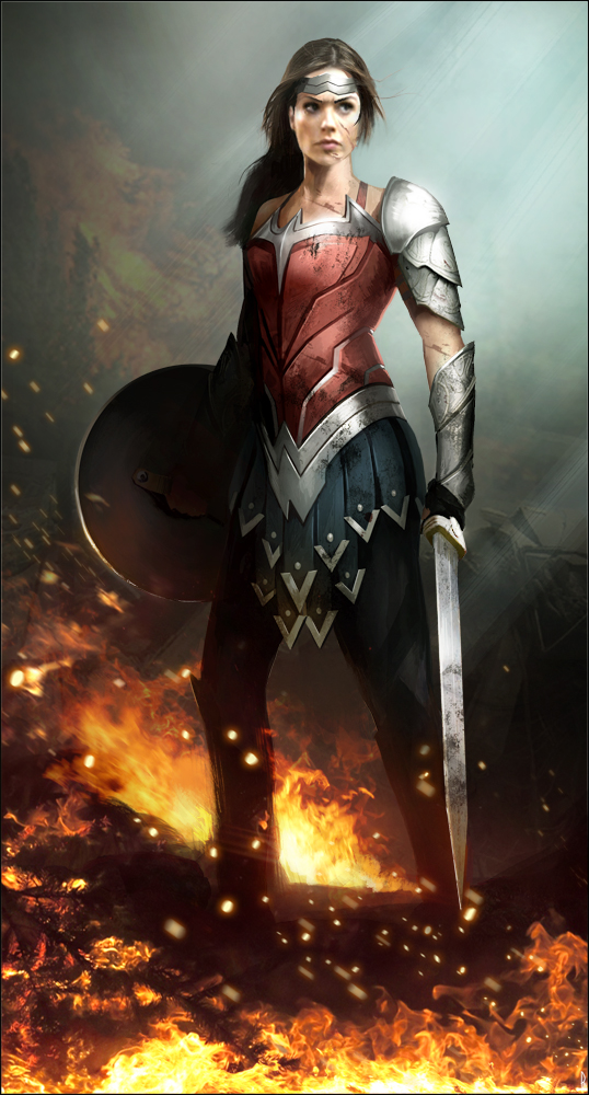 Gal Gadot Wonder Woman by Happy-Mutt