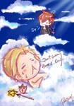 Sweet Devil and the sleeping Angel
