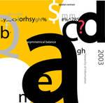 1st Typography
