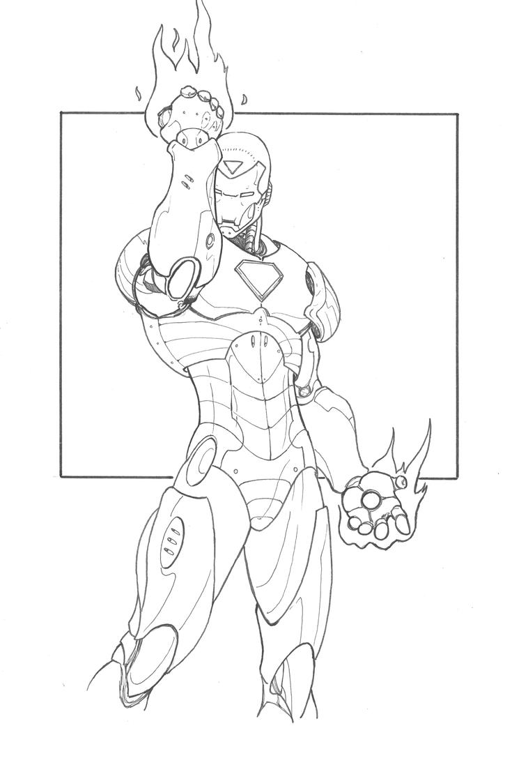 How To Draw Iron Man 3 Iron Man 3 Coloring Pages Mark 42 Iron Coloring Pages 42