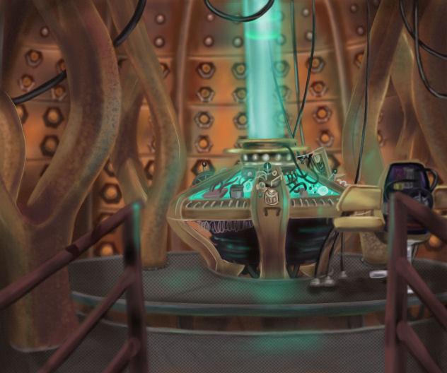 Tardis Interior By KiearaPhoenix ...