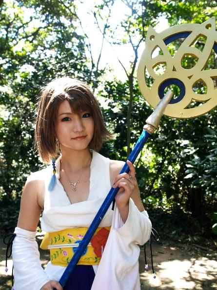 Final Fantasy X - Yuna by shirokumapancosplay