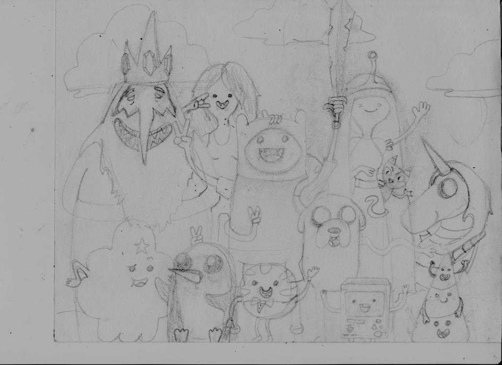 Adventure Time by Erikjr21