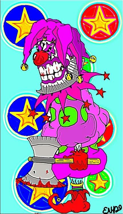 Wicked clown by Erikjr21