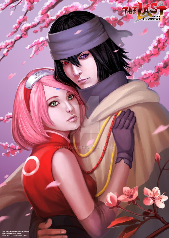 Sasuke And Sakura The Last Movie Kiss