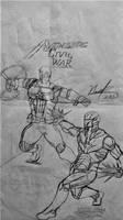 Avengers:Civil War-(My Drawing)