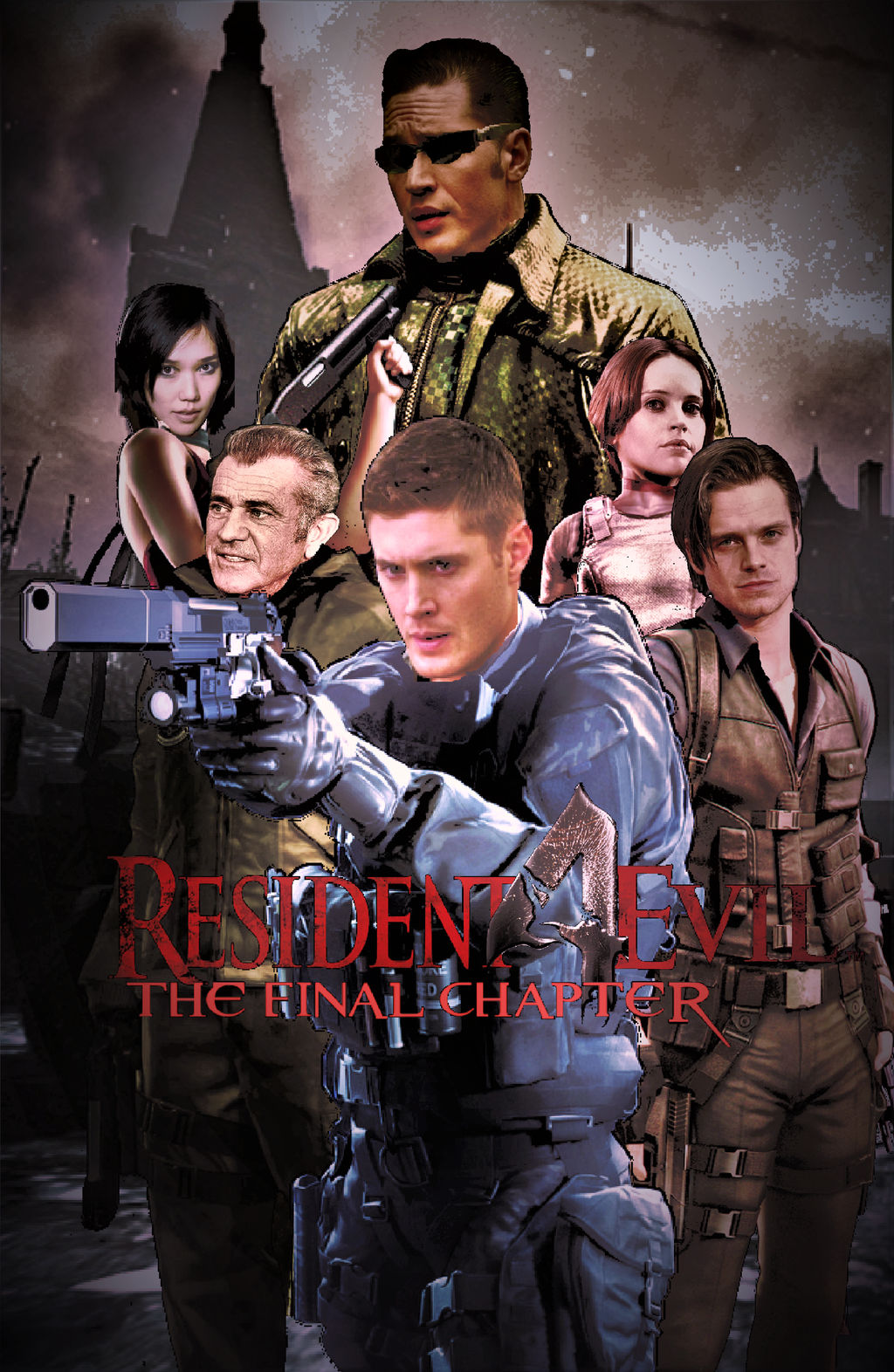 Resident Evil 4 The Final Chapter Poster By Nicolascage49 On