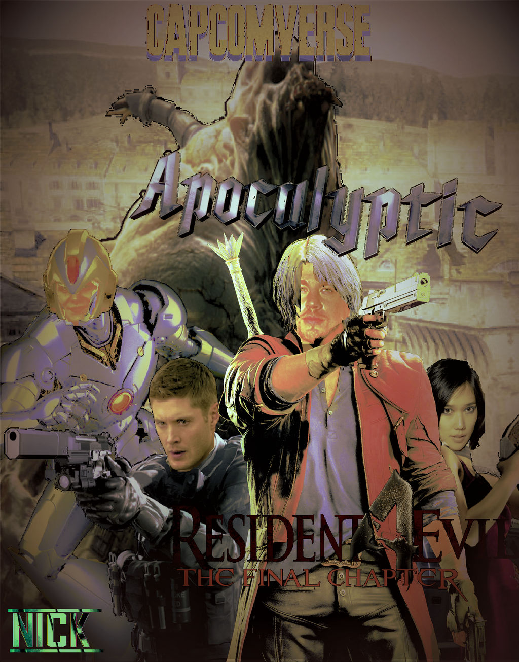 Resident Evil 4 The Final Chapter Poster 2 By Nicolascage49 On