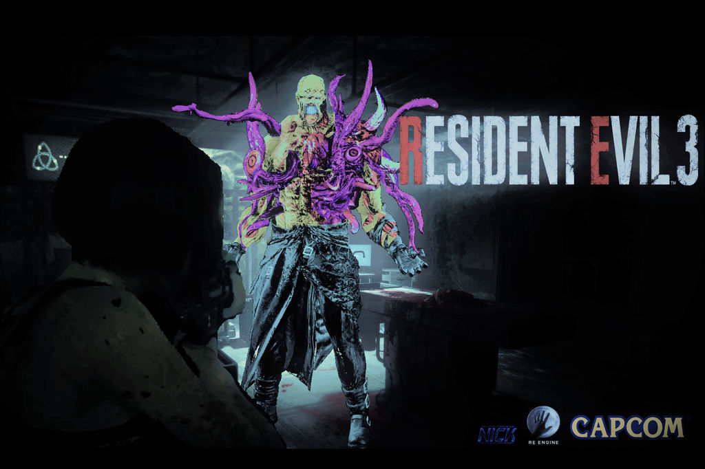 Resident Evil 3 Remake Nemesis Type 2 By Nicolascage49 On