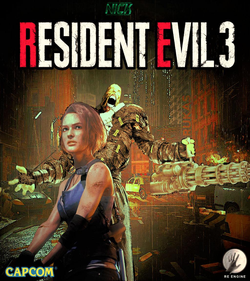 Resident Evil 3 Remake Nemesis Vs Jill Valentine By