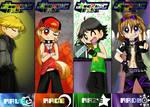 The RowdyRude Boys x3