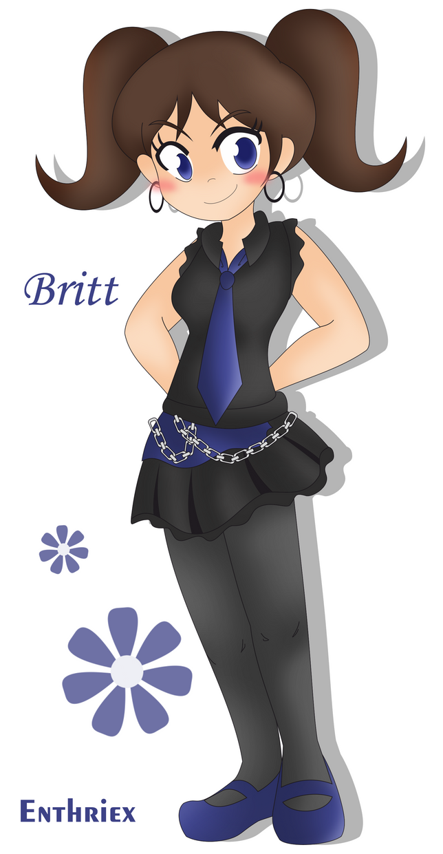 Commission- Britt by Enthriex