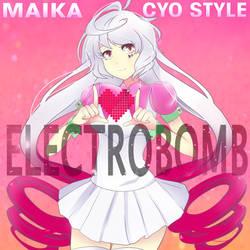 ELECTROBOMB album cover art by EclipsaArtist