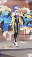 My Nikki Fashion #164 Street Gang Queen