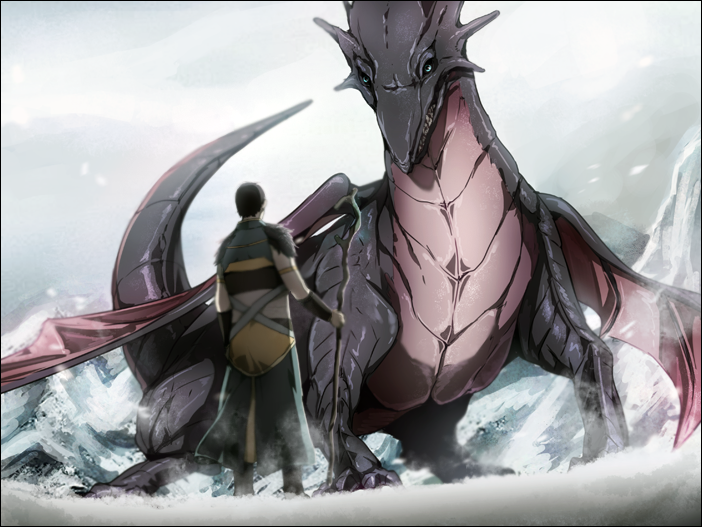 wild dragon appeared by Gobeur