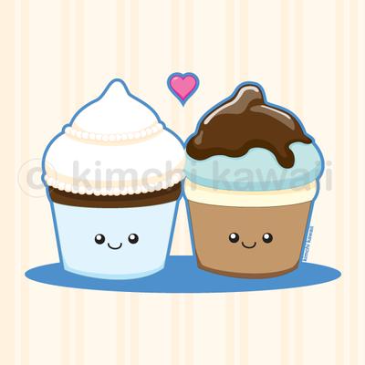 Wedding Cupcakes by kimchikawaii on deviantART