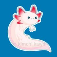 Axolotl: The Kawaii Animal by kimchikawaii