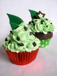 Mint Chip Cupcakes