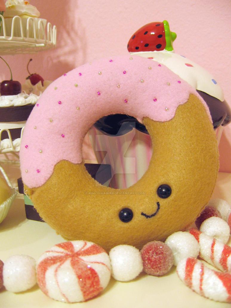 Donut Plushie by kimchikawaii