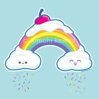 Candy Rainbow by kimchikawaii