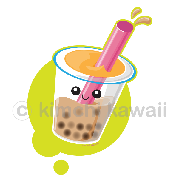 Pearl Milk Tea by kimchikawaii