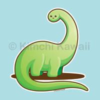 Kawaii Dinosaur by kimchikawaii