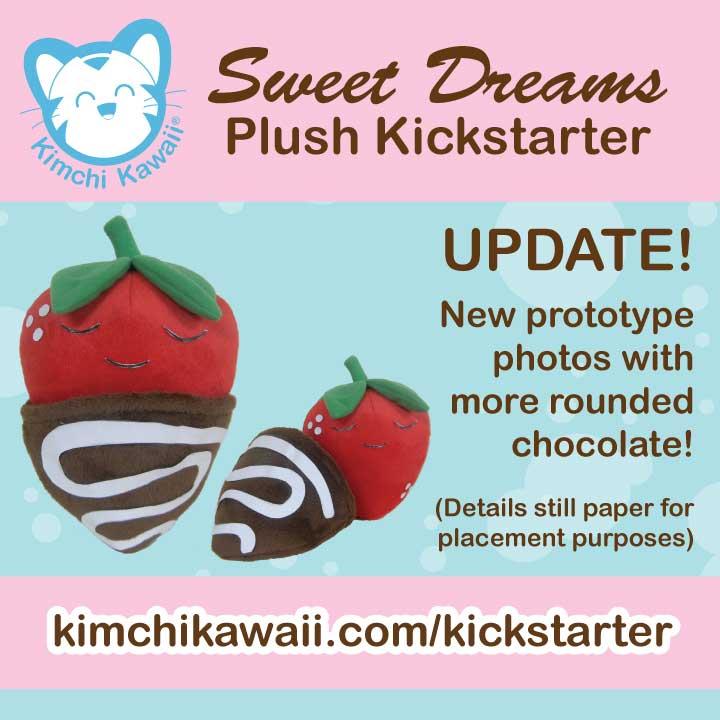 Kickstarter: Strawberries - Draft 2 by kimchikawaii