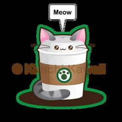 Kawaii Catpuccino by kimchikawaii