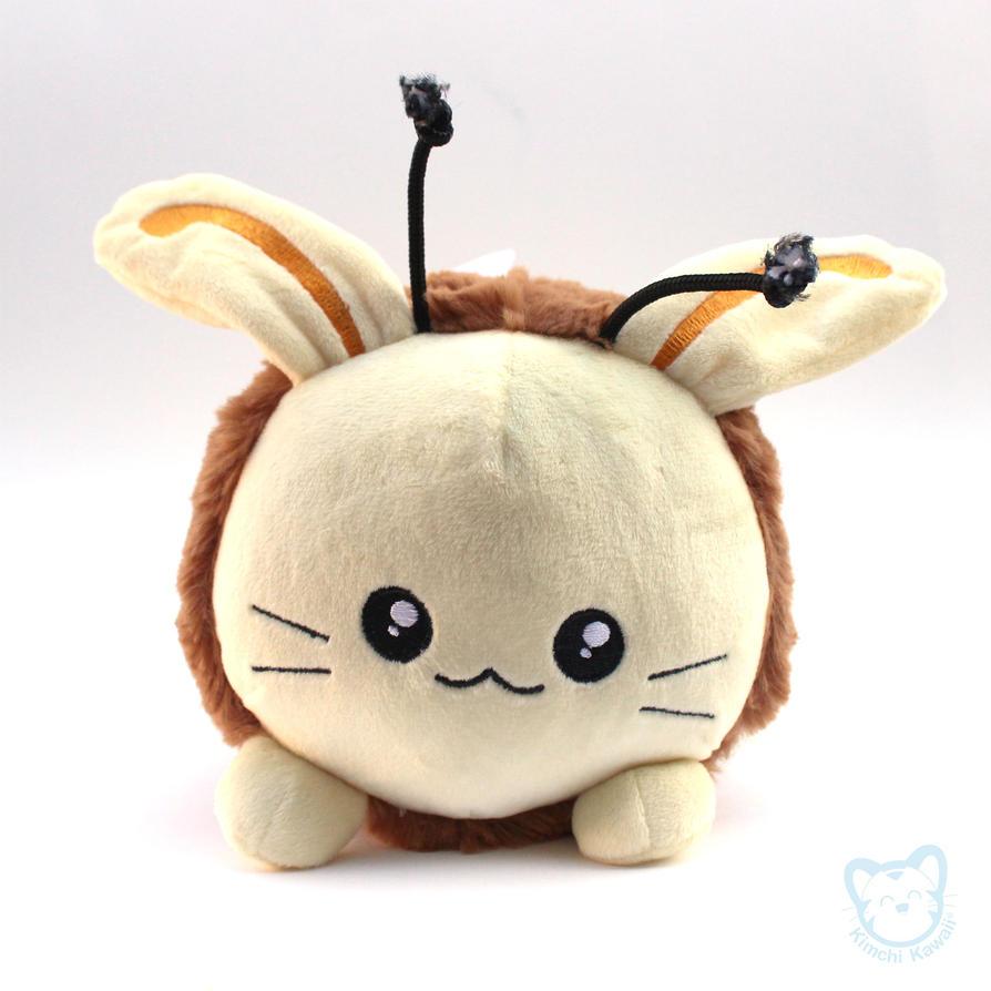 Honey Bun Plushie by kimchikawaii