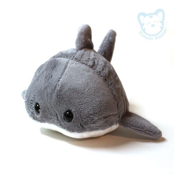 Great White Shark Bun Plushie by kimchikawaii