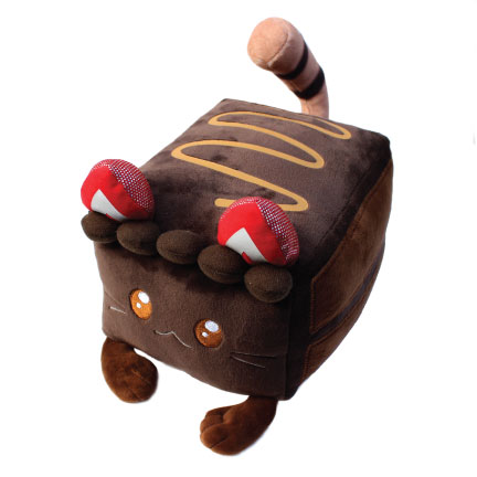 Torta-shell: Kawaii Cute Chocolate Cake Cat by kimchikawaii