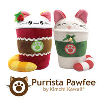 Cute Holiday Coffee Cats