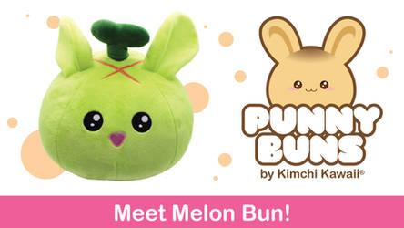 Cute Melon Bun Plush