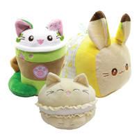 Cute Matcha Kitty Cat Plush and Friends