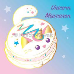 Unicorn Macaron Pin Art