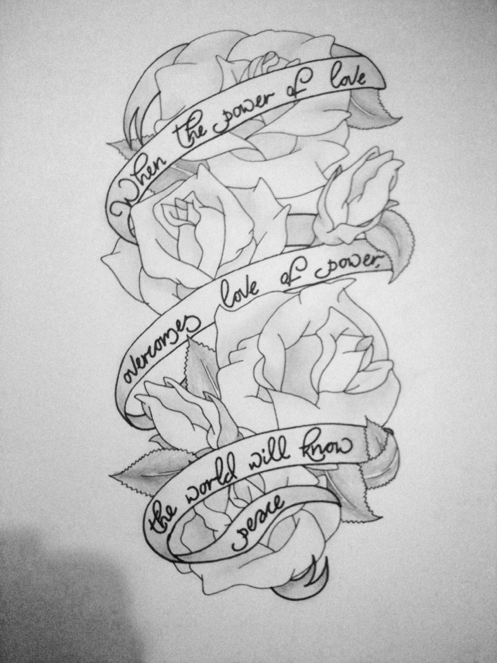 Rose half sleeve by jess wood on deviantart for Half sleeve tattoo sketches