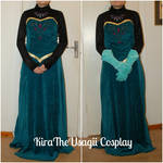 Elsa's coronation outfit: Present state