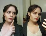 Maleficent cosplay make-up test by KiraTheUsagii