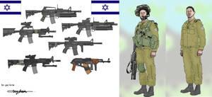military israeli style