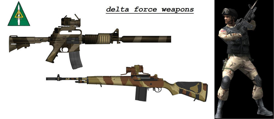 delta force weapons - photo #2