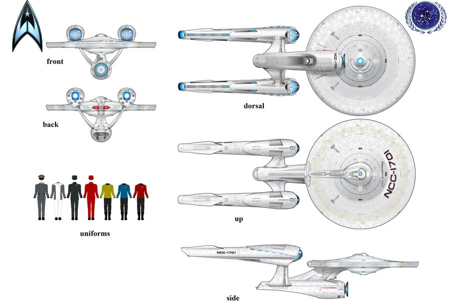 Star Trek 2009 Enterprise By Guy191184