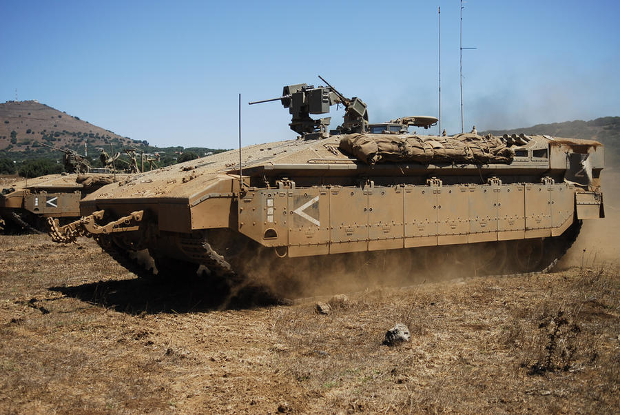 idf namer armord troop transport by guy191184