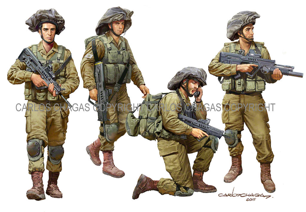 idf modern soldier 2016 by guy191184